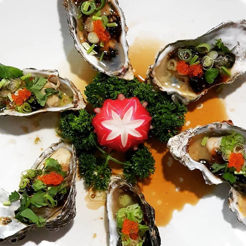 Steamed Oysters Perth